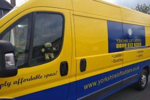 Yorkshire Loft Ladders New Van